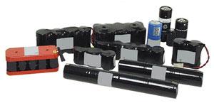 Inbyggnad - Batterier